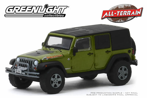 2010 Jeep Wrangler Unlimited Mountain Edition - Rescue Green