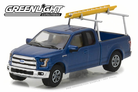 2015 Ford F-150 with Ladder Rack