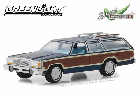 1979 Ford LTD Country Squire (Midnight Blue)