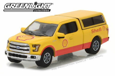 2016 Ford F-150 with Camper Shell - Shell Oil