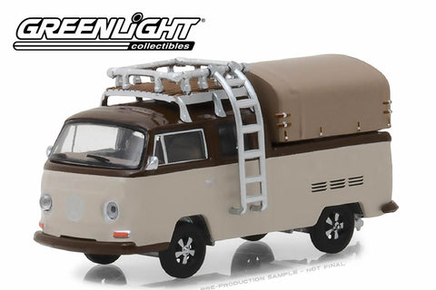 1969 Volkswagen Type 2 Double Cab Pickup with Roof Rack and Canopy