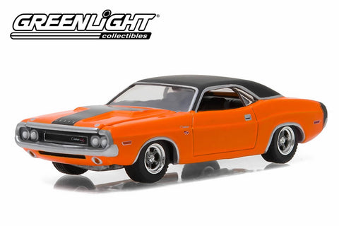 1970 Dodge Challenger R/T - Orange with Black Stripe
