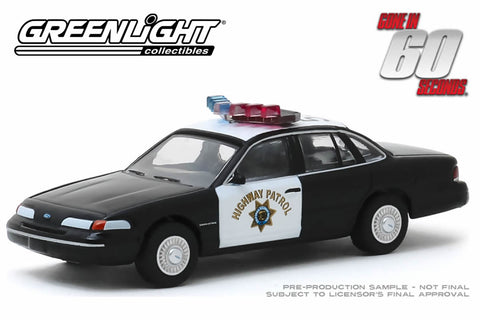 Gone in Sixty Seconds / 1992 Ford Crown Victoria Police Interceptor - California Highway Patrol