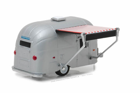Airstream 16' Bambi with Red and White Awning