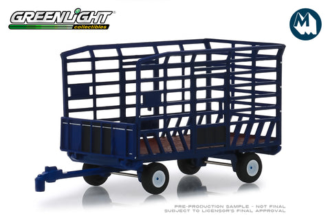 Bale Throw Wagon - Blue