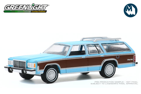 1983 Mercury Grand Marquis Colony Park (Light Cadet Blue Iridescent with Woodgrain)