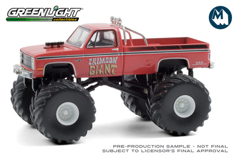Crimson Giant / 1987 Chevrolet Silverado Monster Truck