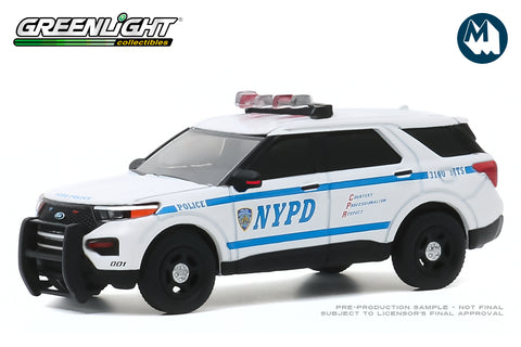 2020 Ford Police Interceptor Utility / New York City Police Dept (NYPD)