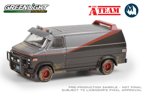 The A-Team / 1983 GMC Vandura (Weathered Version)