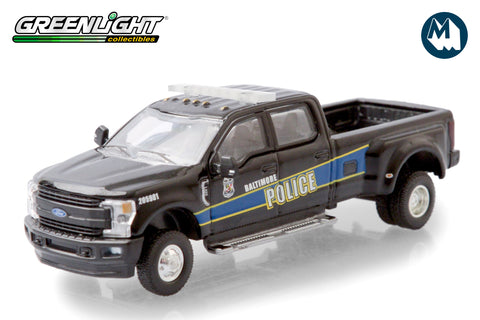 2019 Ford F-350 Dually - Baltimore, Maryland Police Department Mounted Unit