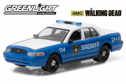 The Walking Dead (2010-Current TV Series) - Rick and Shane's 2001 Ford Crown Victoria Police Interceptor Linden County, Georgia Sheriff