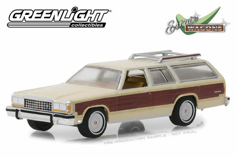 1985 Ford LTD Country Squire (Light Wheat with Wood Paneling)