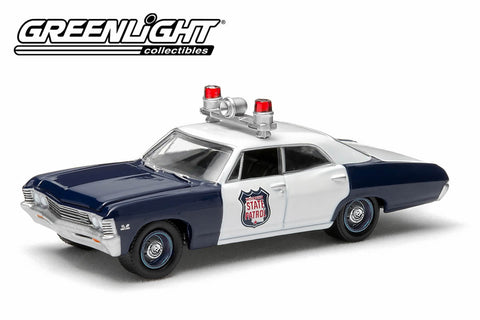 1967 Chevy Biscayne Wisconsin State Patrol