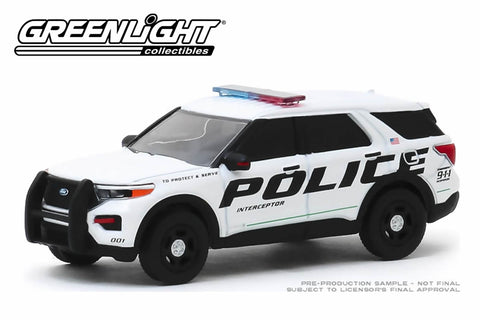 2020 Ford Police Interceptor Utility Show Vehicle