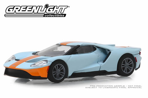 2019 Ford GT - Ford GT Heritage Edition - Gulf Oil Colour Scheme