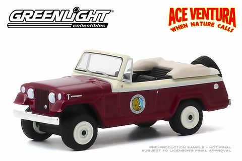 Ace Ventura: When Nature Calls / 1967 Jeep Jeepster Convertible