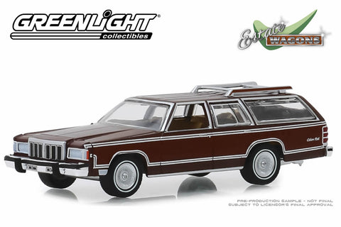 1980 Mercury Grand Marquis Colony Park (Dark Chamois Metallic with Woodgrain)