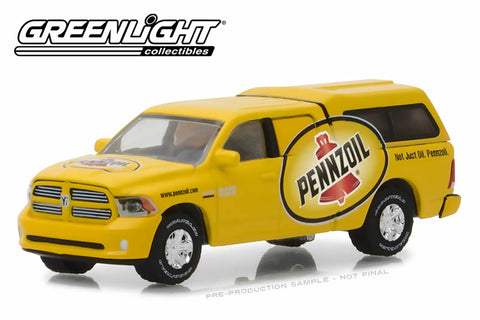 "2014 Ram 1500 with Camper Shell / Pennzoil ""Not just oil, Pennzoil"""