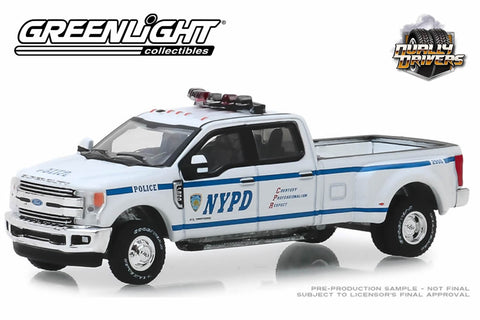 2019 Ford F-350 Dually (New York City Police Dept, NYPD)