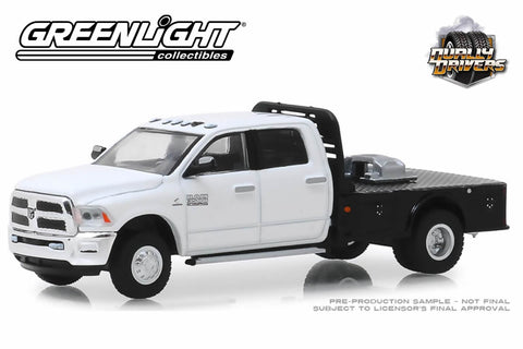 2018 Ram 3500 Dually Flatbed (White)