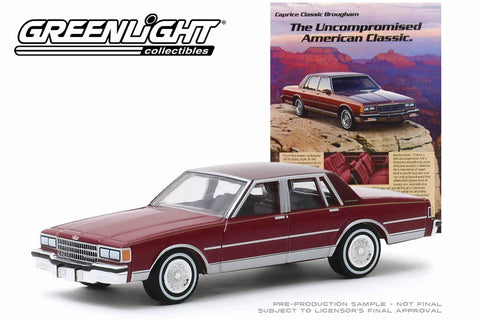 "1986 Chevrolet Caprice Brougham ""The Uncompromised American Classic"""
