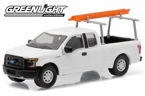 2015 Ford F-150 LT with Ladder Rack and Ladder