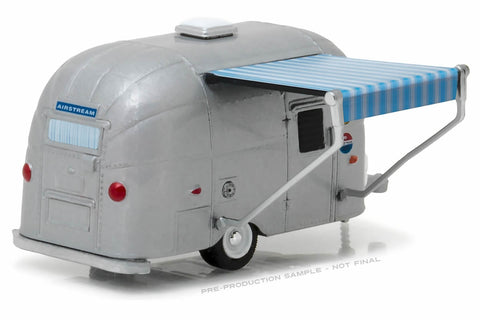 Airstream 16' Bambi with Blue and White Awning