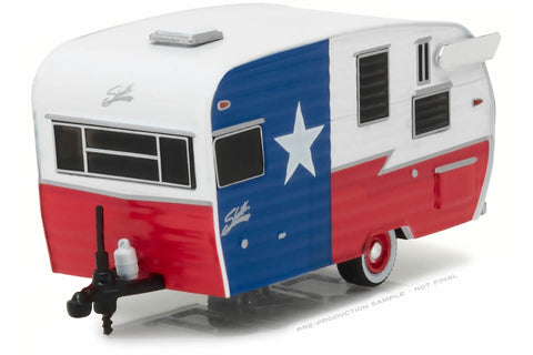 Shasta 15' Airflyte (Red, White and Blue)