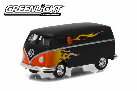 Volkswagen Panel Van with Flames