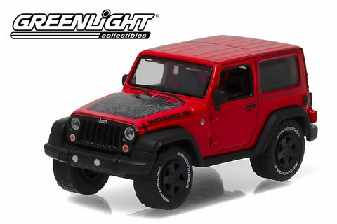 2016 Jeep Wrangler Black Bear - Firecracker Red