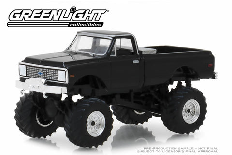 1972 Chevrolet K-10 Monster Truck (Black)