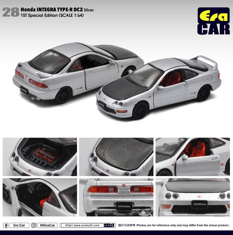 Honda Integra Type R DC2 (Silver) 1st Special Edition