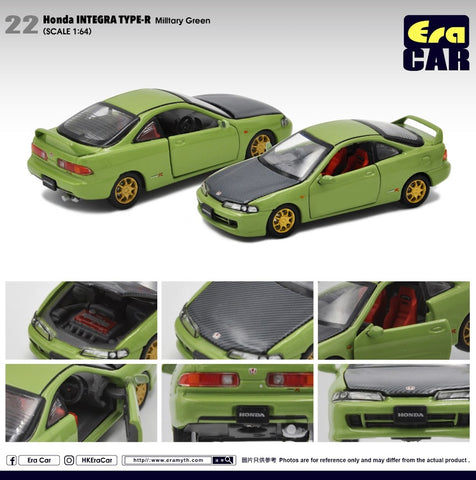 Honda Integra Type R DC2 (Military Green) 1st Special Edition