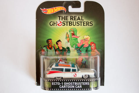 The Real Ghostbusters - Ghostbusters Ecto-1 Cartoon Car