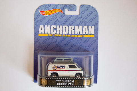 Anchorman: The Legend of Ron Burgundy - Custom '77 Dodge Van