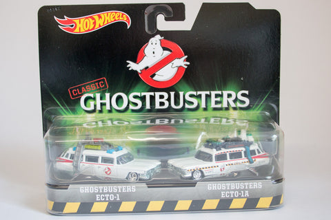 Hot Wheels Ghostbusters Ecto 1 & Ecto 1A Twin Pack