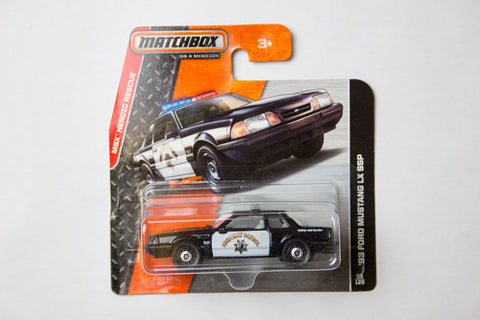 095/120 - '92 Ford Mustang Police Car
