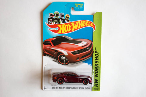 202/250 - [Super] 2013 Hot Wheels Chevy Camaro Special Edition