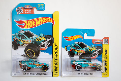 099/250 - Team Hot Wheels Corkscrew Buggy (Treasure Hunt)