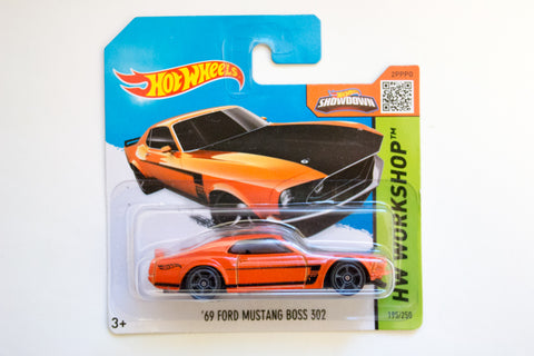 195/250 - '69 Ford Mustang BOSS 302