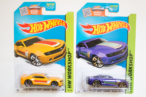232/250 - '13 Hot Wheels Chevy Camaro Special Edition