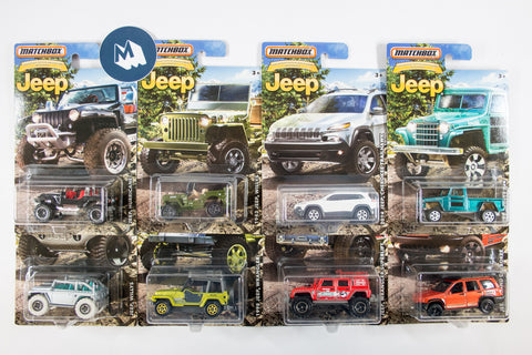 Matchbox - Jeep 75th Anniversary