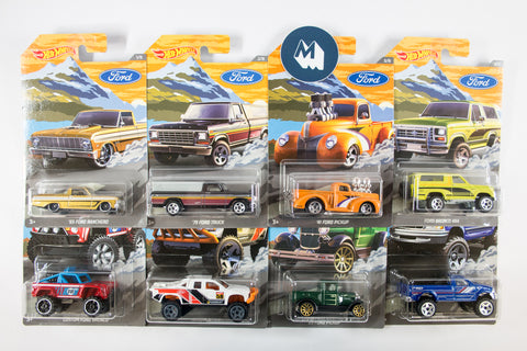 Hot Wheels - Ford Pickups 2018