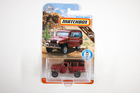 2019 #05 - '62 Jeep Willys Wagon (Red)