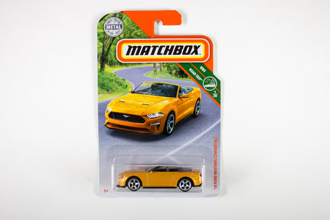 004/100 - '18 Ford Mustang Convertible