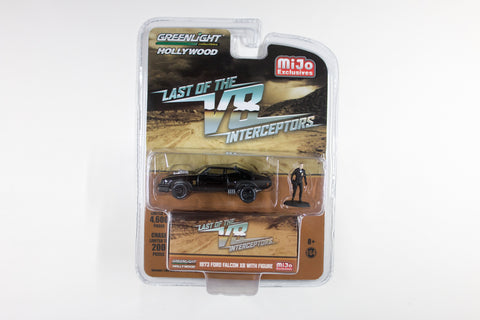 Last of the V8 Interceptors / 1973 Ford Falcon XB with Mad Max figure