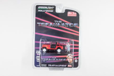 The Terminator / 1983 Jeep CJ-7 Renegade with Sarah Connor figure