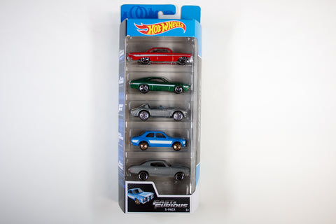 5 Pack - Fast & Furious