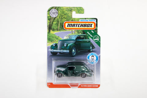 2019 #12 - '36 Ford Sedan Custom (Green)