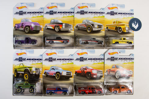 Hot Wheels - 100 Years of Chevy Trucks